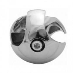 Złącze dwukierunkowe lewe  - Ø 25 chrom SZTR501LCHR