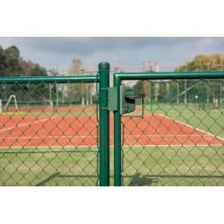 Zamek ogrodowy LAKZ40P1 9005 WADZAM01.2
