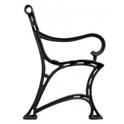 Noga aluminiowa królewska z podłokietnikiem FERNOG21.2
