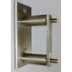 Mocowanie boczne słupka 125x60 UMA6/004-6