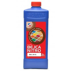 Bejca nitro do drewna TOP 20-01 A 2L BIEL Y111610424011