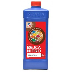 Bejca nitro do drewna TOP 22-01 A 2L brunat  Y111610424131