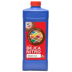 Bejca nitro do drewna TOP 22-25 A 2L BRUNAT  Y111610424155