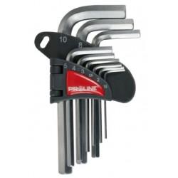 Zestaw kluczy imbusowych 1,5-10mm X48309